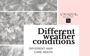 Different weather conditions – different hair care needs