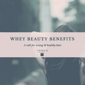 The beauty benefits of whey protein
